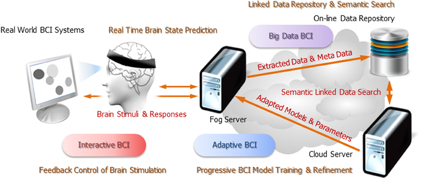 Frontiers | Pervasive brain monitoring and data sharing based on