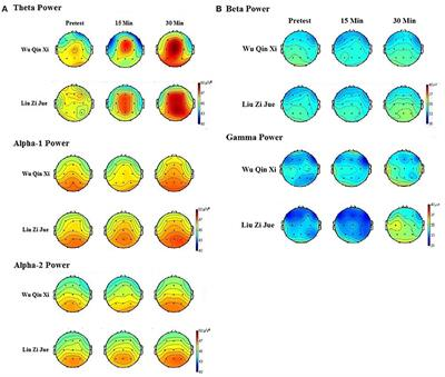 Frontiers | Temporal Courses in EEG Theta and Alpha Activity