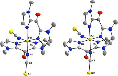 Frontiers | Thermally-Induced Spin Crossover and LIESST