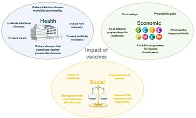 Frontiers Impact Of Vaccines Health Economic And Social Perspectives Microbiology