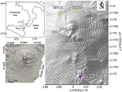 Frontiers | Understanding the SO2 Degassing Budget of Mt Etna's