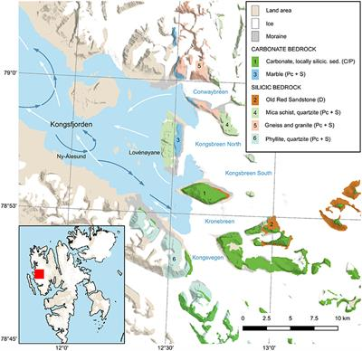 Frontiers | Tidewater Glaciers and Bedrock Characteristics