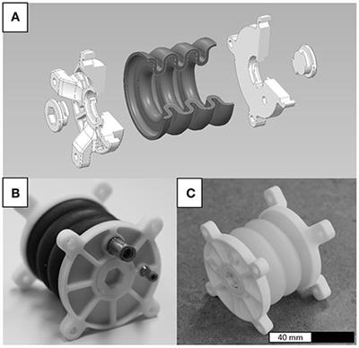 Frontiers | PolyJet-Printed Bellows Actuators: Design, Structural