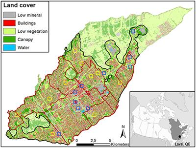 Frontiers How Land Cover Spatial Resolution Affects Mapping Of