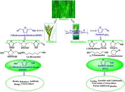 Frontiers   Heterogeneous Catalytic Upgrading of Biofuranic